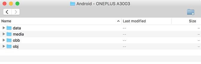 herramienta de transferencia de archivos de androide