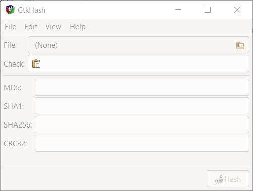 GtkHash is a cross-platform and open source file hashing utility that supports 23 algorithms