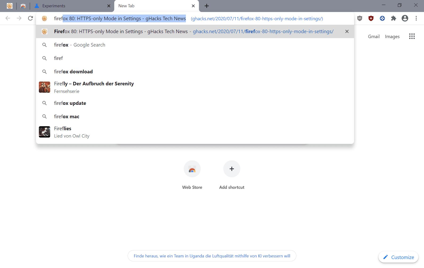 sugerencias de títulos de cromo
