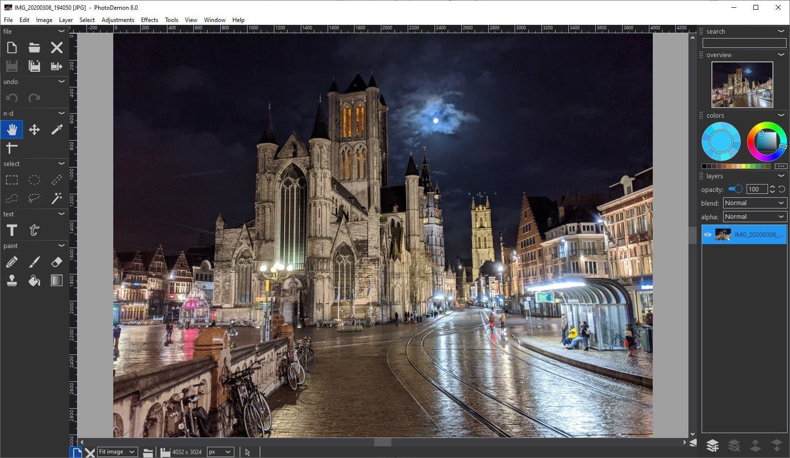interfaz de fotodemonio