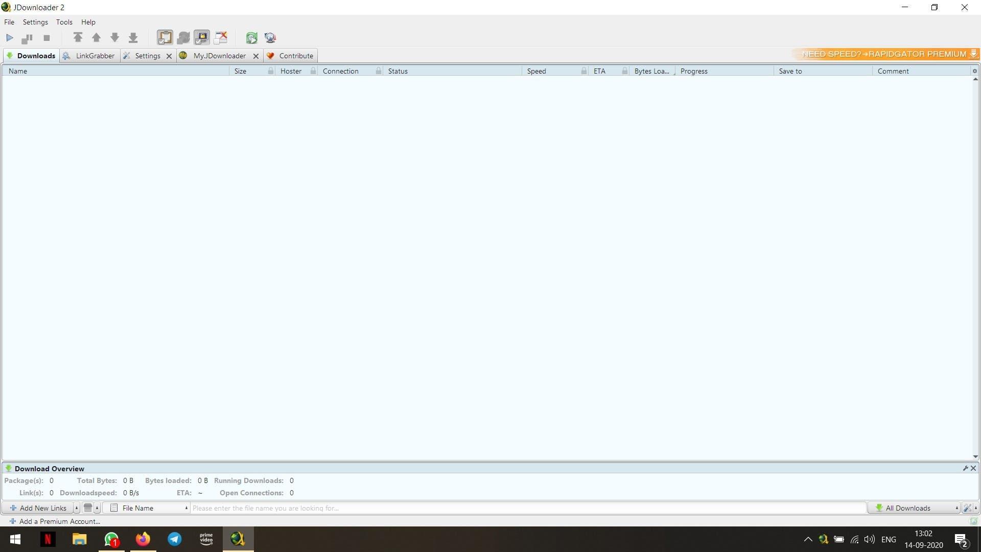 Cómo arreglar el texto borroso en JDownloader