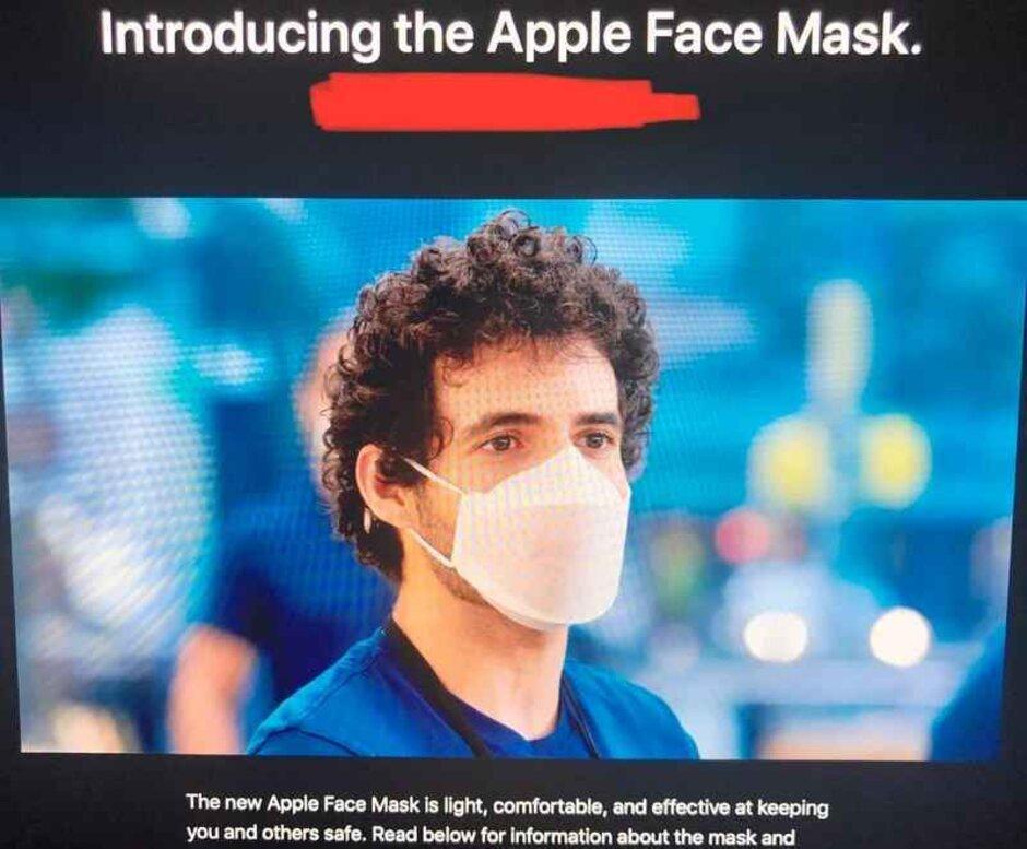Los equipos de diseño de iPhone y iPad han desarrollado máscaras para los empleados de Apple