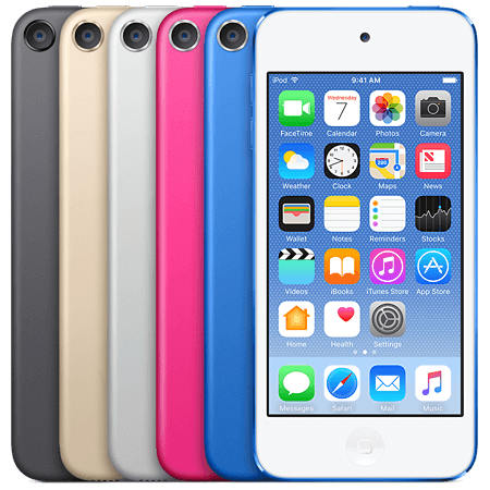 Apple iPod touch 7G iOS Firmware Update 14.0