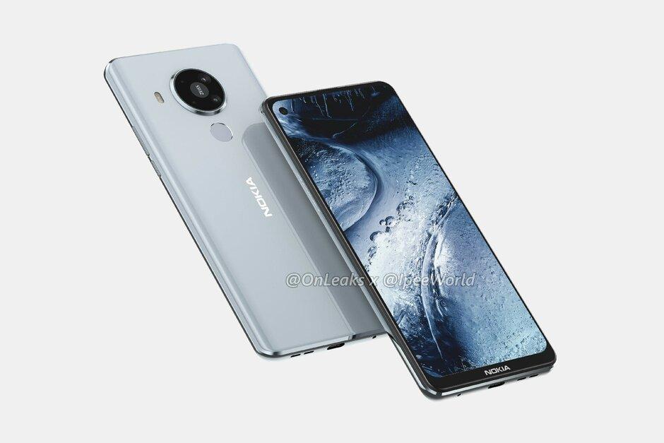 La enorme fuga del Nokia 7.3 5G revela el diseño actualizado y la configuración de la cámara cuádruple
