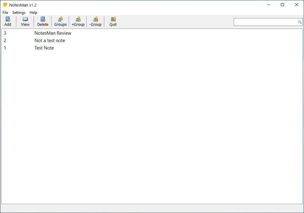 NotesMan is a simple and open source note taking program that supports autosave