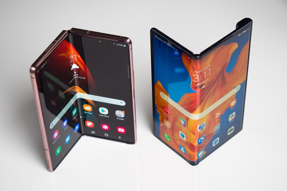 Samsung Galaxy Z Fold 2 vs Huawei Mate Xs - Samsung Galaxy ZFold 2 vs Huawei Mate Xs: ¿Cuál es el teléfono plegable superior 5G?