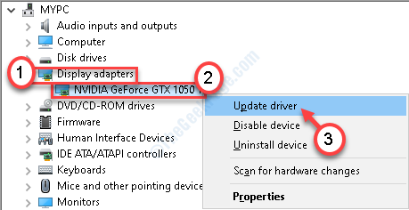 Udpate Display Driver Nuevo