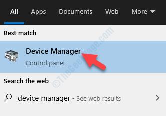 Resultado: haga clic con el botón izquierdo del ratón en el Administrador de dispositivos