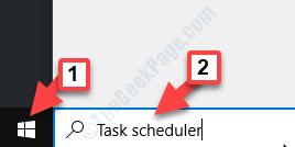 Iniciar la programación de tareas de búsqueda