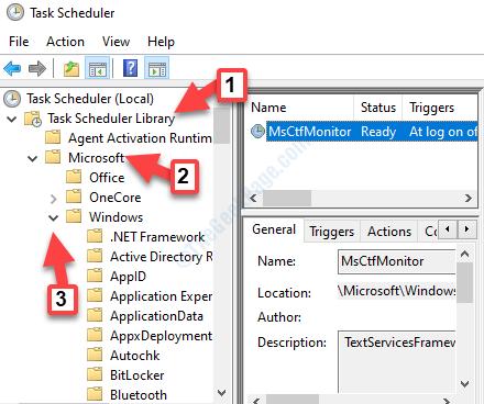 Programador de tareas Biblioteca del programador de tareas Microsoft Windows