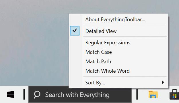todo opciones de búsqueda
