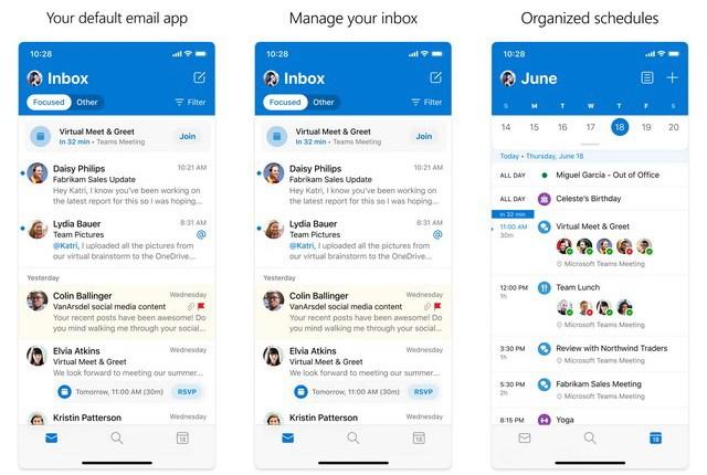Microsoft Outlook - la mejor aplicación de correo electrónico