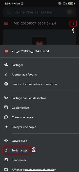 Recuperar video Android eliminado a través de Google Drive