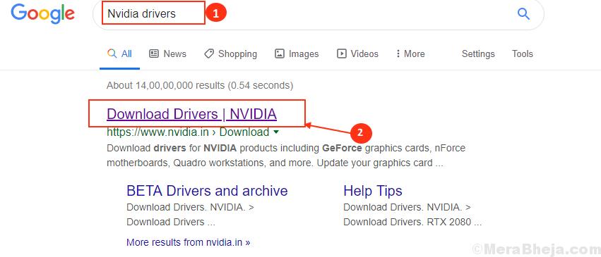 Controladores de Google Nvidia