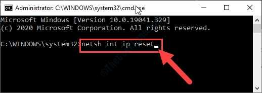 Netsh Int Ip Reset New