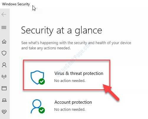 Protección contra virus y amenazas