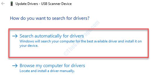 Buscar en el Escáner Automático