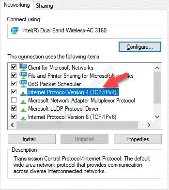 Propiedades de Wifi Red de Protocolo de Internet Versión 4(tcp Ipv4)