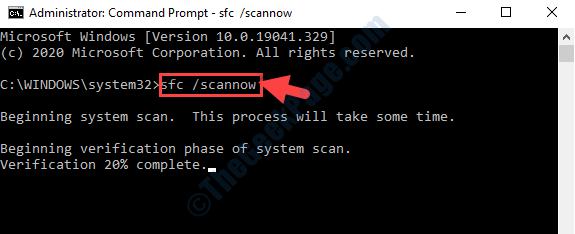 Comando Prompt Run Sfc Scannow Comando Enter