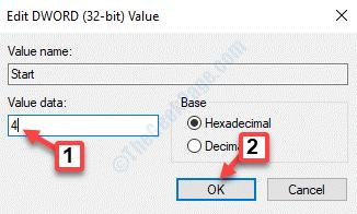 Editar Dword (32 Bit) Valor Valor Datos 4 Ok
