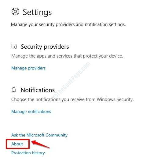 3 Configuración de seguridad Acerca de