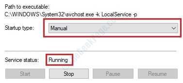 3 Servicio de lista de la red