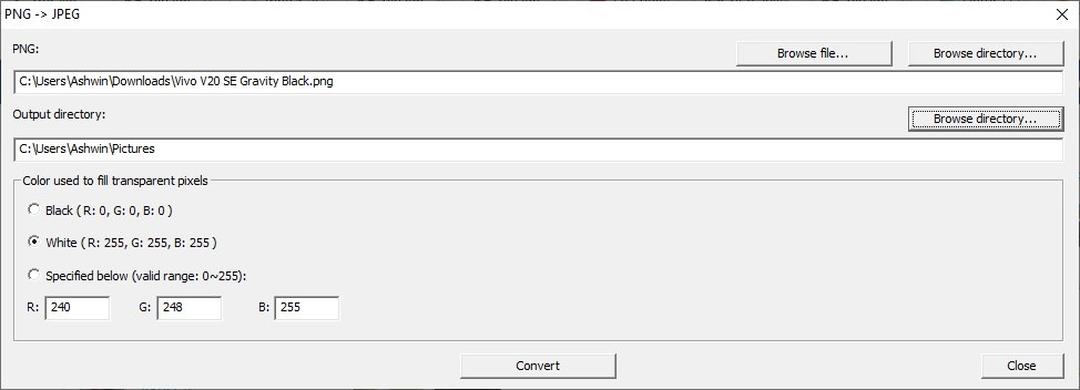 CPix convertir a jpg