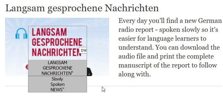 Ejemplo 2 de ScreenTranslator