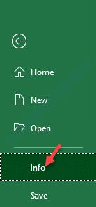 Información de archivo de Excel