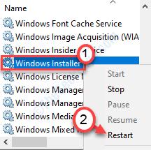 Mínimo del instalador de Windows
