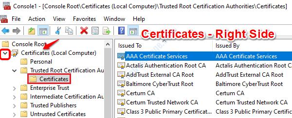 21 Ver certificados