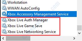 Administrador de autenticación de Xbox Live y descanso mínimo