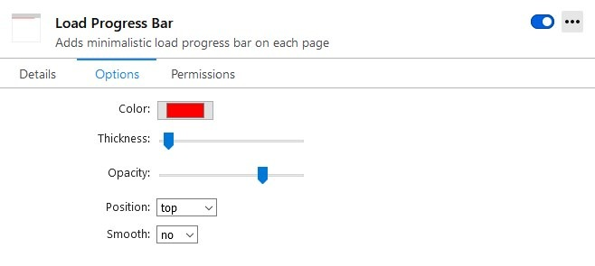 load progress bar demo