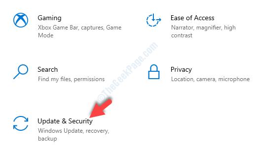 Actualización de la configuración y seguridad