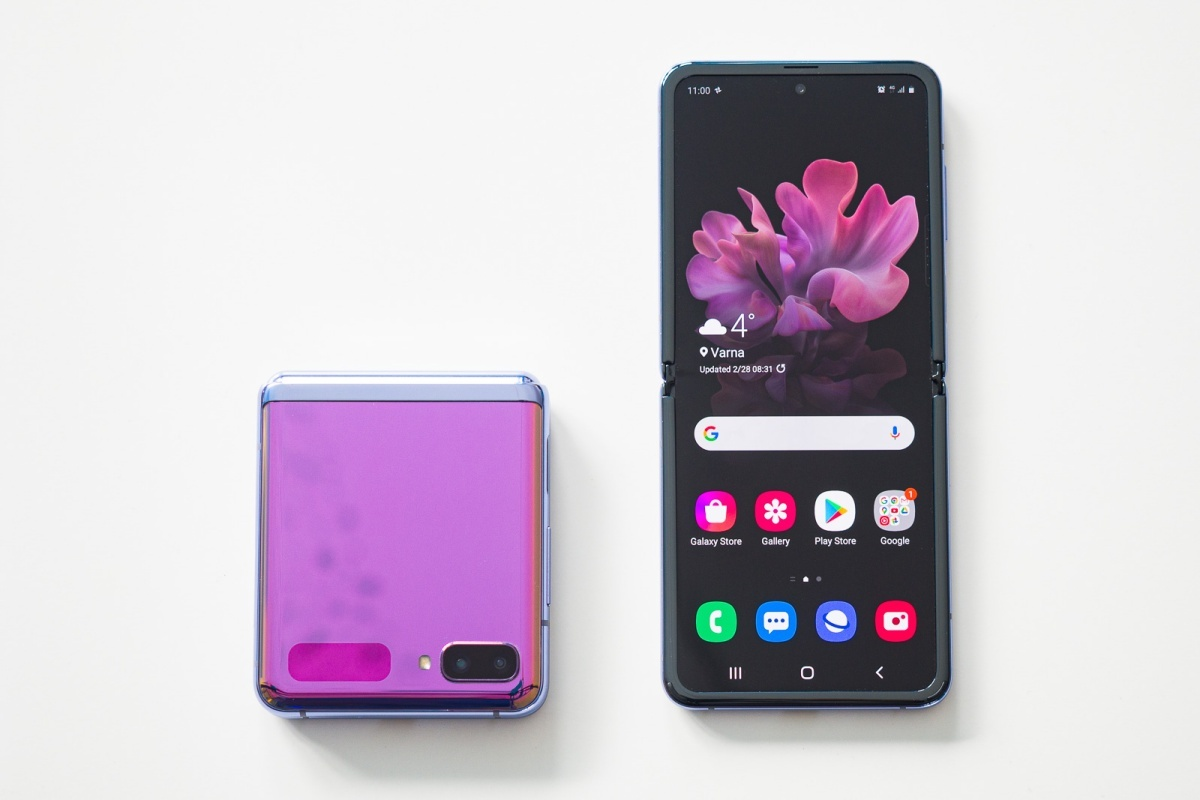 Galaxy Z Flip - Últimas noticias sobre el frente plegable de Samsung: Galaxy Z Fold Lite fuera, Galaxy Z Flip Lite en