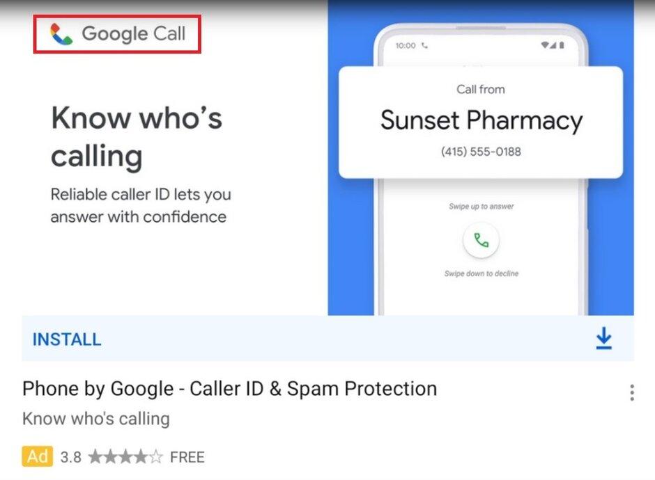 El anuncio filtra el nuevo nombre e ícono de Google para su aplicación Phone by Google - Google accidentalmente revela un nuevo ícono y nombre para una aplicación clave de Android