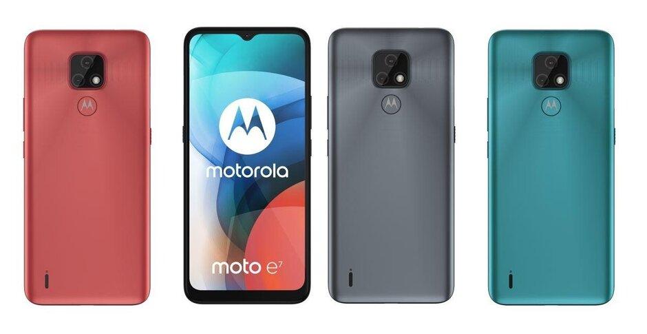 El Moto E7 es oficial como el último teléfono económico de Motorola