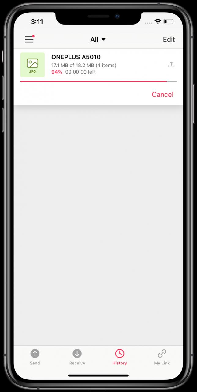 Cómo enviar fotos y videos desde un iPhone a un teléfono Android