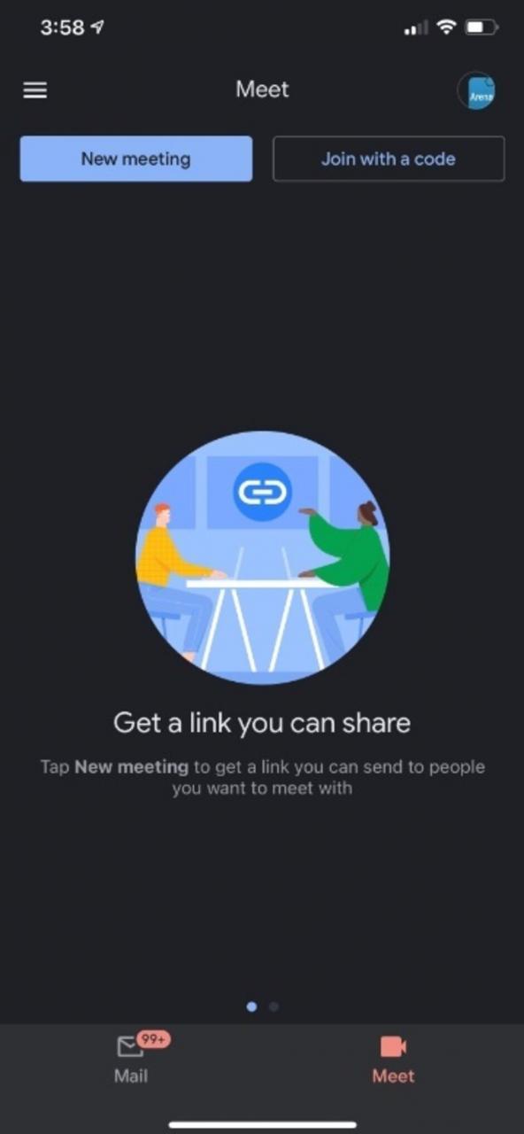 La integración de Meet se encuentra en Gmail: no más videochats grupales en Hangouts; en su lugar, los usuarios de Android deberían usar esta aplicación en lugar de