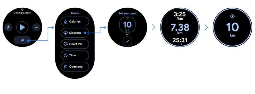 Google Fit recibe un nuevo diseño en Wear OS