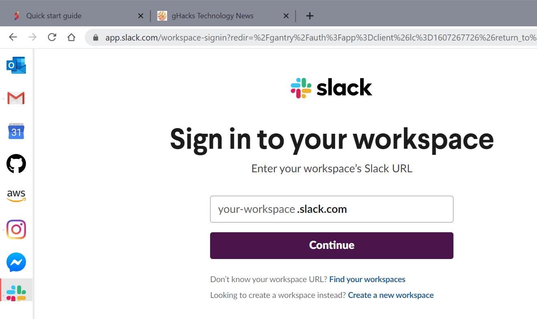 barra lateral del navegador sidekick