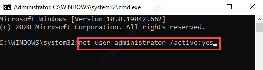 Símbolo del sistema (admin) Ejecutar comando para instalar el controlador usando la cuenta de administrador Ingresar