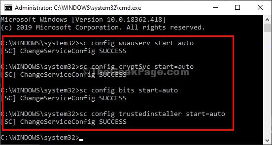 Sc Config Services Automático