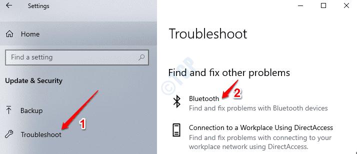 Solucionar problemas de Bluetooth