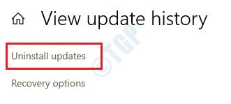 9 Desinstalar actualizaciones