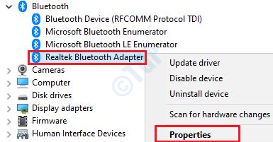 14 Propiedades del controlador Bluetooth