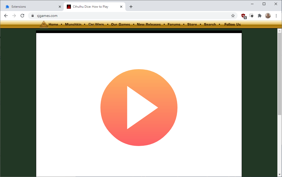 contenido flash de google chrome