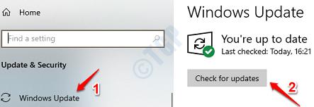 9 Compruebe las actualizaciones de Windows