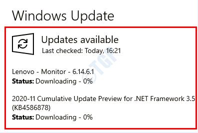 10 Actualización de Windows