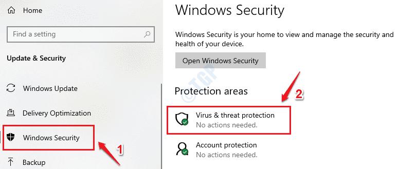 2 Protección contra virus y amenazas optimizada